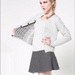 NWT Varsity Style Cardigan Jacket